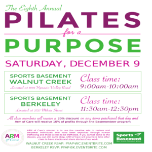 8th annual Pilates for a Purpose @ Sports Basement Berkeley | Berkeley | California | United States